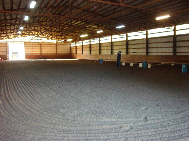You'll love our indoor arena!